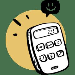 icône calculette comptabilité