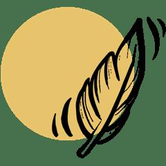 icône plume contraintes et organisation